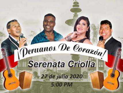 SERENATA CRIOLLA, ¡PERUANOS DE CORAZÓN!