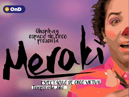 MERAKI ESPECTÁCULO DE CIRCO VIRTUAL