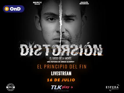 """DISTORSIÓN III """"EL PRINCIPIO DEL FIN"""""""