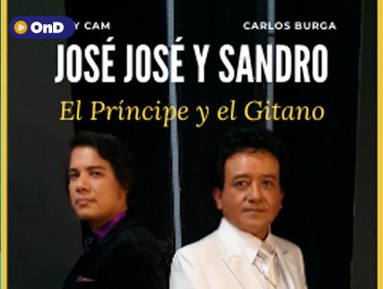 HOMENAJE A JOSE JOSE Y SANDRO POR  CARLOS BURGA Y TONY CAM