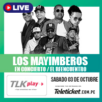 LOS MAYIMBEROS (PRESENTACIÓN EXCLUSIVA) STREAMING TLK PLAY - LIMA