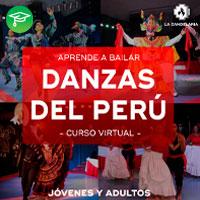 CURSO TALLER EN LÍNEA: DANZAS DEL PERÚ LA CANDELARIA - WEB