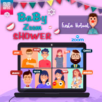 BABY ZOOM SHOWER WWW.ZOOM.US - WEB