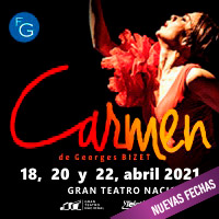 CARMEN  DE GEORGES BIZET (Ópera) GRAN TEATRO NACIONAL - SAN BORJA - LIMA