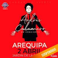 ANDRES CALAMARO EN CONCIERTO JARDIN DE LA CERVEZA - CERRO COLORADO - AREQUIPA