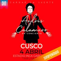 ANDRES CALAMARO EN CONCIERTO ESTADIO INCA GARCILASO DE LA VEGA - WANCHAQ - CUSCO