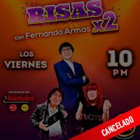 FERNANDO ARMAS RISAS X 2 CENTRO DE CONVENCIONES BIANCA - BARRANCO - LIMA