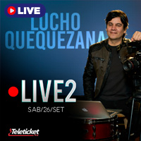 LUCHO QUEQUEZANA LIVE 2 STREAMING TLK PLAY - LIMA