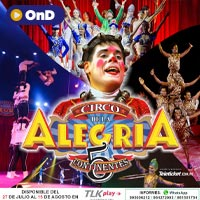 CIRCO DE LA  ALEGRÍA  ´´5CONTINENTES´´ STREAMING TLK PLAY - LIMA