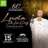 LUCÍA- 60 AÑOS Teatro Peruano Japonés - JESUS MARIA - LIMA
