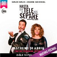 HASTA QUE LA TELE NOS SEPARE Teatro Peruano Japonés - JESUS MARIA - LIMA