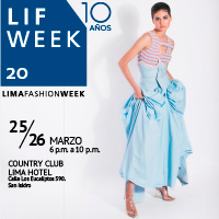 LIF WEEK 2020 COUNTRY CLUB LIMA HOTEL - SAN ISIDRO - LIMA