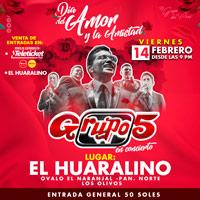 FELIZ DIA DEL AMOR Y AMISTAD/ GRUPO 5 EL HUARALINO INTERNACIONAL - LOS OLIVOS - LIMA