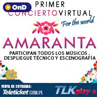 AMARANTA - FOR THE WORLD STREAMING TLK PLAY - LIMA