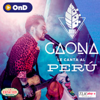 GAONA le canta al Perú STREAMING TLK PLAY - LIMA