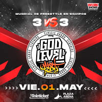 GOD LEVEL FEST 3 VS 3 PLAZA ARENA - SANTIAGO DE SURCO - LIMA
