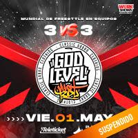 GOD LEVEL FEST 3 VS 3 ARENA PERÚ - SANTIAGO DE SURCO - LIMA