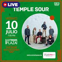 TEMPLE SOUR LIVE SHOW EN ART PLAZA TELETICKET.COM.PE/PLAY - LIMA
