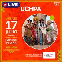 UCHPA LIVE SHOW EN ART PLAZA STREAMING TLK PLAY - LIMA