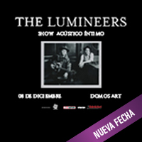 THE LUMINEERS DOMOS ART - SAN MIGUEL - LIMA