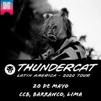 THUNDERCAT CENTRO DE CONVENCIONES BARRANCO. - BARRANCO - LIMA