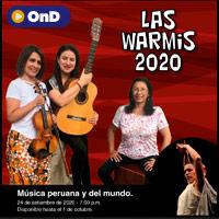 LAS WARMIS EN SU PRIMER CONCIERTO VIRTUAL 2020 STREAMING TLK PLAY - LIMA