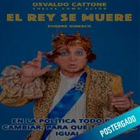 OSVALDO CATTONE EN EL REY SE MUERE TEATRO MARSANO - MIRAFLORES - LIMA