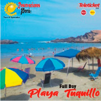 FULL DAY PLAYA TUQUILLO - PISCINA DEL OCÉANO PACÍFICO PUNTO DE REUNIÒN - SAN ISIDRO - LIMA