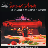 TOUR DEL AMOR EN EL CALLAO + MIRAFLORES + BARRANCO ESQUINA DE LA CASA MATUSITA - LIMA
