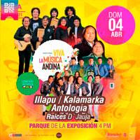VIVA LA MÚSICA ANDINA ANFITEATRO DEL PARQUE DE LA EXPOSICION - LIMA