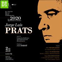 Jorge Luis Prats en Lima GRAN TEATRO NACIONAL - SAN BORJA - LIMA