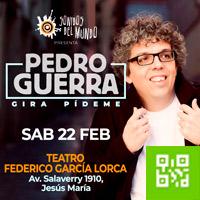 PEDRO GUERRA TEATRO FEDERICO GARCIA LORCA - JESUS MARIA - LIMA