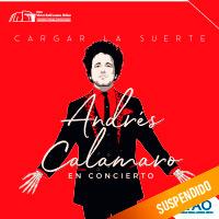 ANDRÉS CALAMARO EN CONCIERTO Teatro Víctor Raúl Lozano Ibañez - VICTOR LARCO HERRERA - TRUJILLO