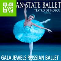 GALA JEWELS RUSSIAN BALLET AUDITORIO SANTA URSULA - SAN ISIDRO - LIMA