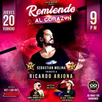 REMIENDO AL CORAZÓN - TRIBUTO A RICARDO ARJONA  CENTRO DE CONVENCIONES BIANCA - BARRANCO - LIMA