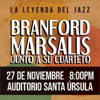 BRANFORD MARSALIS Y SU CUARTETO AUDITORIO SANTA URSULA - SAN ISIDRO - LIMA