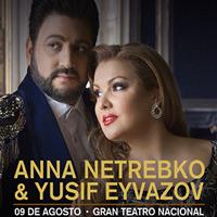 ANNA NETREBKO Y YUSIF EYVAZOV GRAN TEATRO NACIONAL - SAN BORJA - LIMA