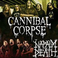CANNIBAL CORPSE / NAPALM DEATH EN LIMA CENTRO DE CONVENCIONES FESTIVA - LIMA