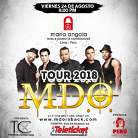 MDO TOUR 2018 CENTRO DE CONVENCIONES DEL MARIA ANGOLA - LIMA