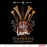 WE THE LION - SYMPHONIC GRAN TEATRO NACIONAL - SAN BORJA - LIMA