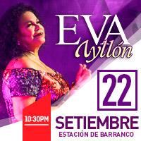 EVA AYLLON EN LA ESTACION DE BARRANCO LA ESTACION DE BARRANCO - BARRANCO - LIMA