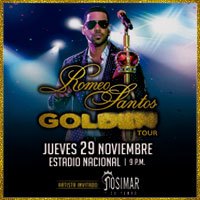 ROMEO SANTOS GOLDEN TOUR 2018 ESTADIO NACIONAL - LIMA
