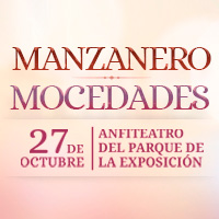 DEVOLUCION: ARMANDO MANZANERO Y MOCEDADES ANFITEATRO DEL PARQUE DE LA EXPOSICION - LIMA