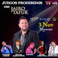 JUEGOS PROHIBIDOS CON JAIRO TAFUR CENTRO DE CONVENCIONES MARACANA - JESUS MARIA - LIMA