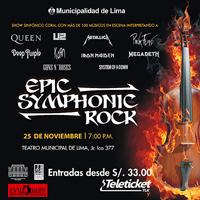 EPIC SYMPHONIC ROCK TEATRO MUNICIPAL DE LIMA - LIMA