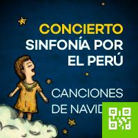 SINFONIA POR EL PERU. CANCIONES DE NAVIDAD ANFITEATRO DEL PARQUE DE LA EXPOSICION - LIMA