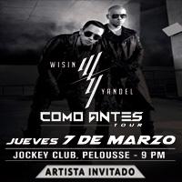 WISIN & YANDEL COMO ANTES TOUR LA PELOUSSE -  JOCKEY CLUB - SANTIAGO DE SURCO - LIMA
