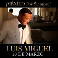MEXICO POR SIEMPRE LUIS MIGUEL JOCKEY CLUB DEL PERU - SANTIAGO DE SURCO - LIMA