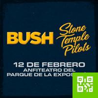 BUSH + STONE TEMPLE PILOTS ANFITEATRO DEL PARQUE DE LA EXPOSICION - LIMA
