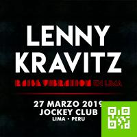 LENNY KRAVITZ EN LIMA JOCKEY CLUB-PELOUSSE - LIMA